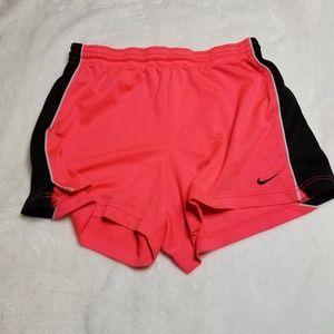 Nike | Coral Pink Activewear Shorts